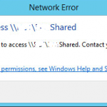 Remove saved credentials of Windows Network sharing