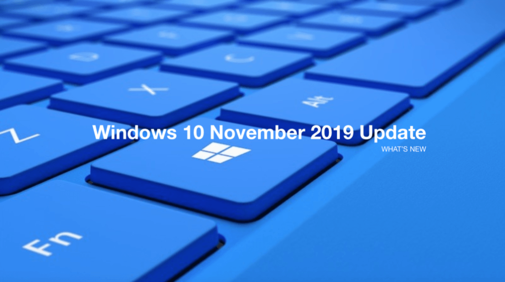 Windows 10, version 1909