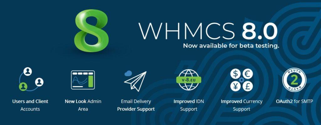 WHMCS 8.0 beta