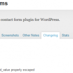 Critical Vulnerability Disclosed on WordPress Custom Contact Forms Plugin
