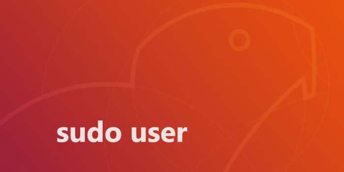 Sudo User on Ubuntu